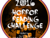 2016 Horror Reading Challenge – January Update