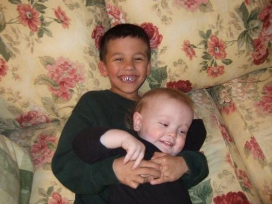My sons - Christmas 2007