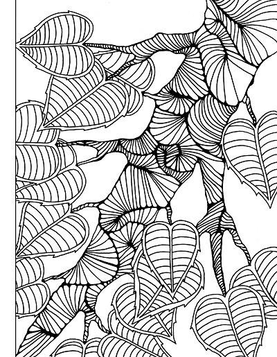 TreesofLifeColouringpicture2