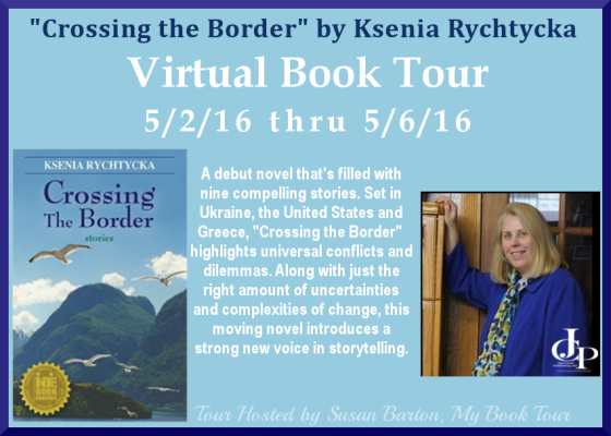 Crossing the Border by Ksenia Rychtycka Book Tour Banner