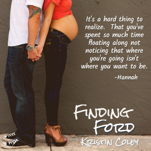 Teaser 3 Finding Ford - Hannah Quote